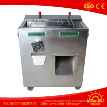 Gefrorene Fleischschneidemaschine Kleine Fleischschneidemaschine