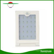 Solaire Alimenté Panneau 25 LED Réverbère Solaire Mouvement Corps Capteur Lumière Extérieure Jardin Chemin Spot Lampe Murale Luminaria