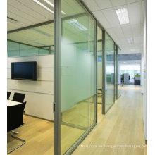 Nueva puerta de la oficina de diseño con ventana de vidrio para la venta