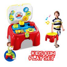 2016 Brinquedo educativo quente para cadeira de armazenamento de criança aprendendo brinquedo