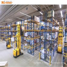 rack de paletes de aço de armazenamento warehosue VNA
