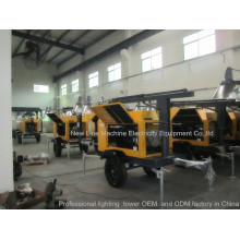China Good Lighting Tower Factory (7-18kVA)