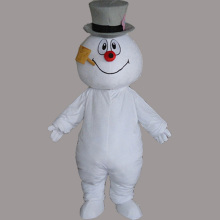 Hand-made Snowman Mascot Costume Fancy Party and Carnival Supply Adult Size Free Shipping
