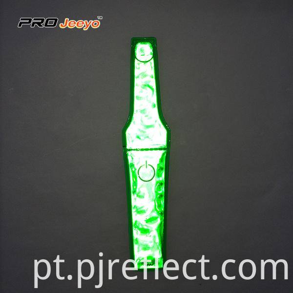 High Visibility Warning Pvc Green Magnetic Clipcj Ccj004