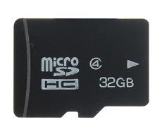 새로운 32 기가바이트 마이크로 SDHC 높은 용량 보안 SD/TF 플래시 메모리 카드