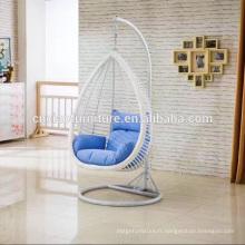 Loisirs de meubles de jardin en plein air suspendus chaise cocon