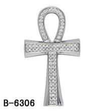 Высокое Качество Крест Кулон Ювелирных Изделий Серебро 925