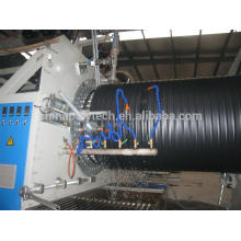 2014 HDPE double wall corrugated pipe machine