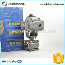 JKTLEB027 válvula automatizada de alta presión galvanizada