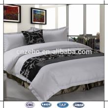 Hotel de lujo de cinco estrellas tela 100% textil poliéster cama bufanda