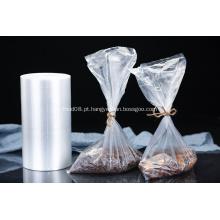 Saco congelado plástico transparente da embalagem de alimento