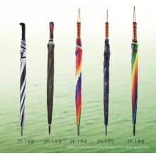 Открытая автоматическая печать Coloful I Handle Straight Umbrella (JY-192)