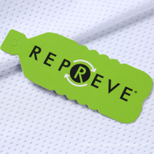 soft recycled repreve polyester rpet pet mesh jersey fabric made from recycled plastic bottles for t-shirt sportswear
