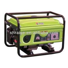 Gerador elétrico portátil de gasolina elétrico de 2KW 168f