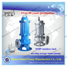 WQP series Stainless Steel Submersible Sewage Pump/SS MATERIAL PUMP