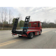 130hp flatbed tow truck for agricultural machinery