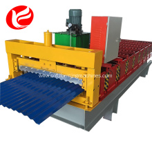 Color steels metal roof sheet roofing making machine