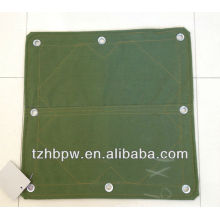 100% waterproof organosilicon canvas tarp