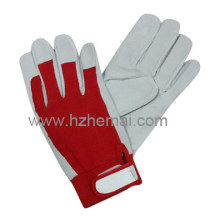 Leather Garden Gloves Ladies Gardening Work Glove