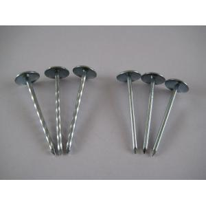 Umbrella Roofing Nails With Twist Shank