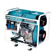 3kw Open Frame Elektrischer Start Luftgekühlter Dieselgenerator