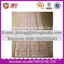 Colores personalizados para la impresión de algodón Tela de algodón pulido tela de algodón orgánico