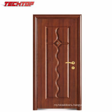 TPS-112 High Quality Hot Selling Transparent Tempered Glass Prehung Aluminum Back Pocket Door