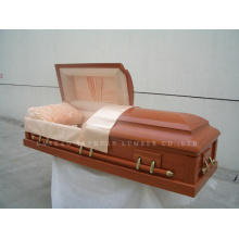 MDF American-Style Wooden Coffin Gwf01-01