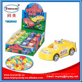 Pull Back Mini Police Car Toy with Sweet Candy