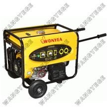 5.0kw de refroidissement d'air générateur d'essence avec démarrage électrique