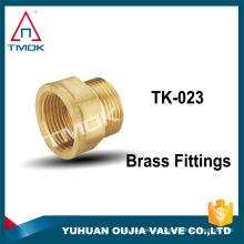 partes de latón conector de tubo de cobre conector de latón conector de manguera de latón accesorio de compresión