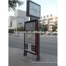Bushaltestellen Kioske