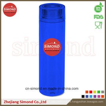 800ml BPA liberan la botella de agua de los deportes de Tritan con el logotipo de encargo