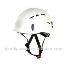Light-weight PP Plastic Rock Climbing CE UIAA Certified Safety Helmet