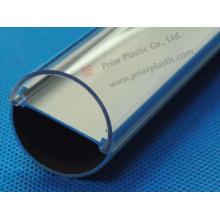 Couvercle de diffuseur de lumière LED avec profil en aluminium