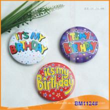 Kundenspezifische bedruckte runde Tinplate Button Abzeichen BM1124