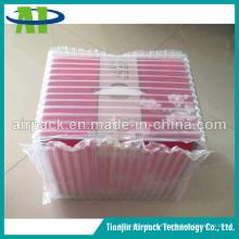 Saco de embalagem de coluna de ar transparente para caixa de presente