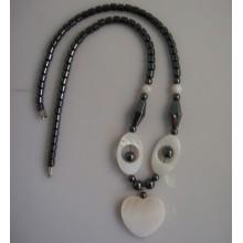 Гематит жемчужное ожерелье