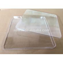 Boîtes de Petri carrées jetables en plastique de laboratoire de Direct usine 250 * 250mm