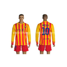 nuevo diseño del balompié jersey de manga larga de entrenamiento deportivo