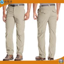 Pantalones al por mayor de la pierna de los pantalones de algodón del verano de los hombres del trabajo al por mayor
