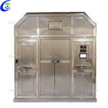 Machine de crémation humaine environnementale pour la fourniture de services funéraires