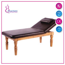 Facial Couch Massage Bed Dengan Kayu