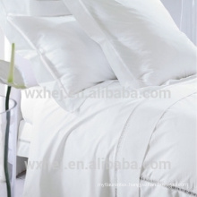 Home textile White Color 100% cotton bed sheets wholesale