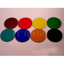 Lentille colorée optique parfaite de filtre pour l'équipement photographique avec la bonne qualité de Chine
