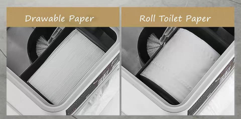 Garbage Bin for Bathroom