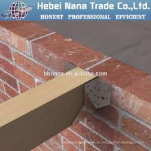Conectores de madeira galvanizada de aço de alta qualidade / madeira galvanizada metal