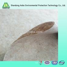 Fieltro no tejida degradable de la fibra del lino / del yute / de Ramie