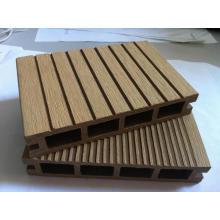 Piso sintético decking de madeira e plástico para varanda