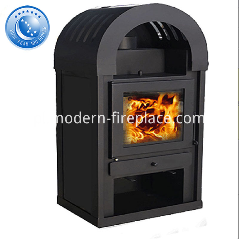 Outside Large Wood Burning Stove Factory
